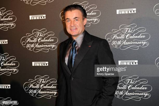 Jean Alesi attends the 'Pirelli 50th Anniversary Party' at Palais De Tokyo on January 30 2014 in Paris France