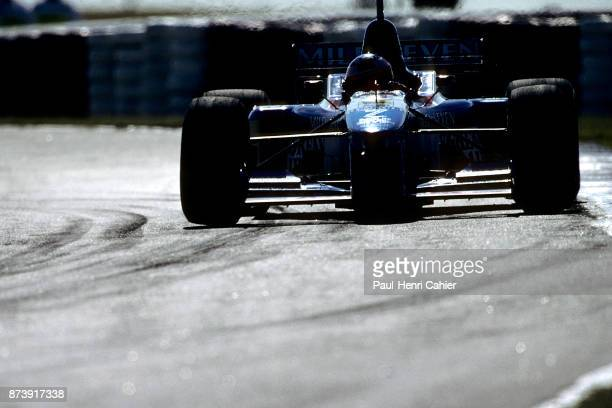 Jean Alesi BenettonRenault B197 Grand Prix of Argentina Autodromo Juan y Oscar Galvez Buenos Aires 13 April 1997