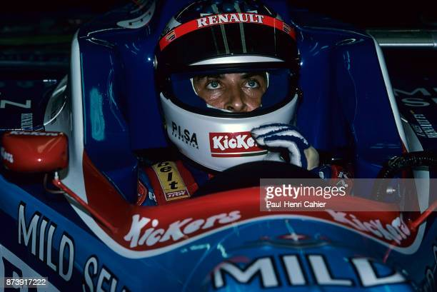 Jean Alesi, Benetton-Renault B197, Grand Prix of Australia, Albert Park, Melbourne Grand Prix Circuit, 09 March 1997. Jean Alesi in the cockpit of...