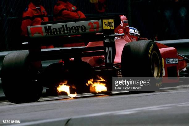 Jean Alesi, Ferrari 412T1, Grand Prix of Monaco, Circuit de Monaco, 15 May 1994.
