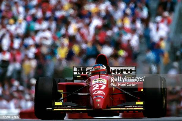 Jean Alesi, Ferrari 412T2, Grand Prix of Canada, Circuit Gilles Villeneuve, 11 June 1995. Jean Alesi on the way to his first and only Formula One...
