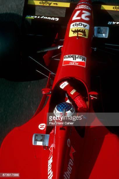 Jean Alesi Ferrari 412T2 Grand Prix of Monaco Circuit de Monaco 28 May 1995