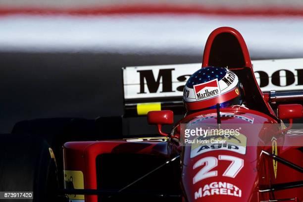Jean Alesi, Ferrari 412T2, Grand Prix of Portugal, Autodromo do Estoril, 24 September 1995.