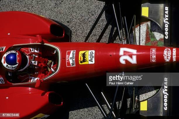 Jean Alesi Ferrari F92A Grand Prix of San Marino Autodromo Enzo e Dino Ferrari Imola 17 May 1992