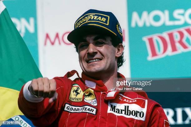Jean Alesi, Grand Prix of Canada, Circuit Gilles Villeneuve, 11 June 1995.