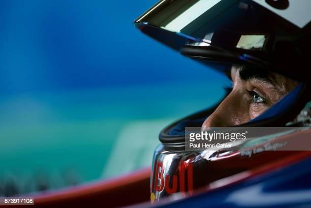 Jean Alesi Grand Prix of Great Britain Silverstone Circuit 12 July 1998