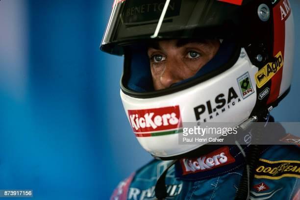 Jean Alesi, Grand Prix of Great Britain, Silverstone Circuit, 13 July 1997.