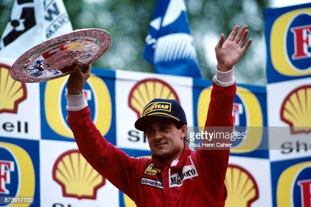 Jean Alesi, Grand Prix of San Marino, Autodromo Enzo e Dino Ferrari, Imola, 30 April 1995.
