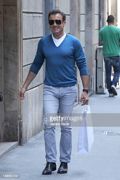 Jean Alesi is seen on June 14 2012 in Milan Italy