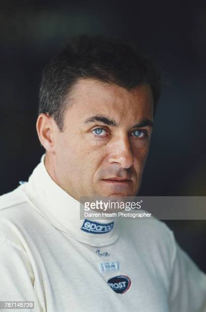Jean Alesi of France driver of the Gauloises Prost Peugeot Prost AP03 Peugeot V10 during the Formula One Austrian Grand Prix on 16 July 2000 at the...