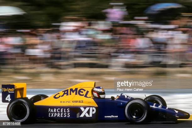 Jean Alesi TyrrellFord 018 Grand Prix of France Circuit Paul Ricard 09 July 1989 Jean Alesi in his sensational debut in Formula One when he finished...