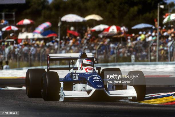 Jean Alesi TyrrellFord 019 Grand Prix of France Circuit Paul Ricard 08 July 1990