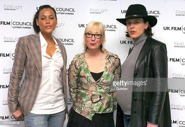 Jean Anderson Jenny Eclair and Olivia Williams during The Firstlight Film Awards at The Odeon West end in London Great Britain