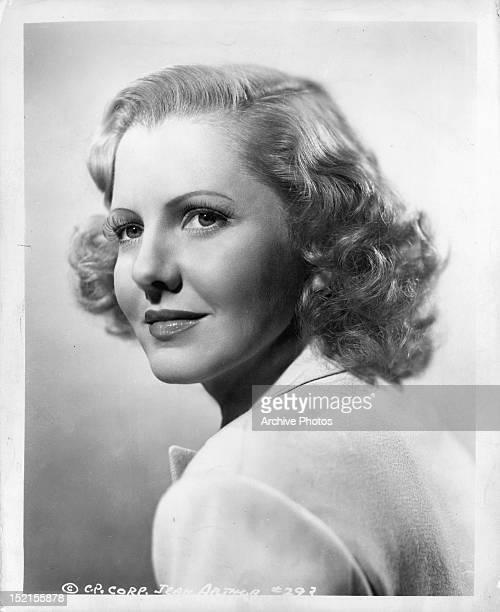 Jean Arthur publicity portrait Circa 1937