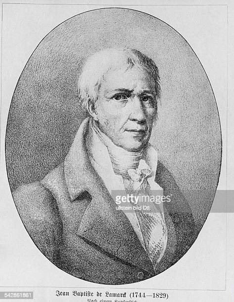 Jean Baptiste de Lamarck1744 1829 Naturforscher FrankreichKupferstich