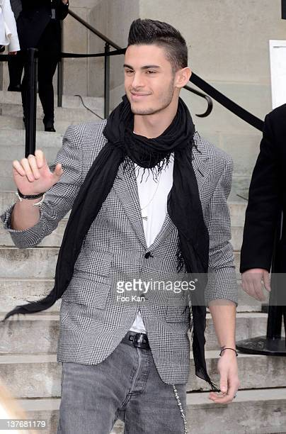 Jean Baptiste Giacobini attends the Chanel Arrivals Paris Fashion Week Haute Couture S/S 2012 at the Grand Palais on January 24 2012 in Paris France