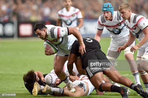 Jean Baptiste Gros of France during the Semi Final Final U20 World Championship between France and New Zealand on June 12 2018 in Perpignan France