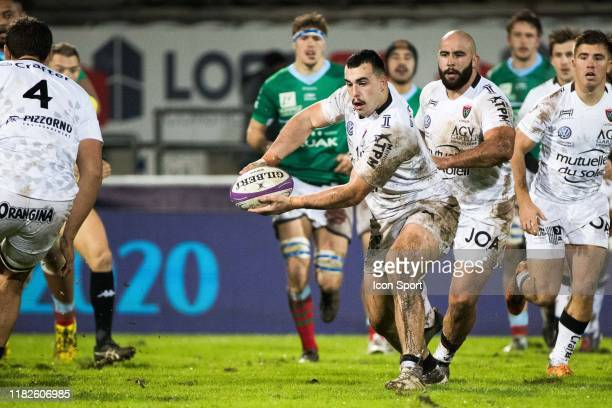 Jean Baptiste GROS of Toulon during the European Rugby Challenge Cup Pool 2 match between Bayonne and Toulon on November 15 2019 in Bayonne France