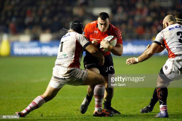 Jean Baptiste Gros of Toulon during the Top 14 match between Toulon and Oyonnax at Felix Mayol Stadium on December 23 2017 in Toulon France