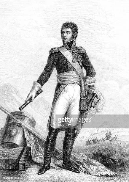 Jean Baptiste Jules Bernadotte French revolutionary soldier Marshal of France under Napoleon elected Crown Prince of Sweden 1810 King Charles XIV...