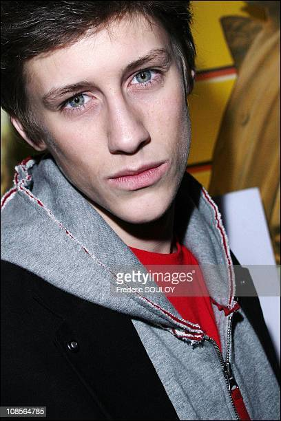 Jean Baptiste Maunier in Marne la Vallee France on March 21 2007