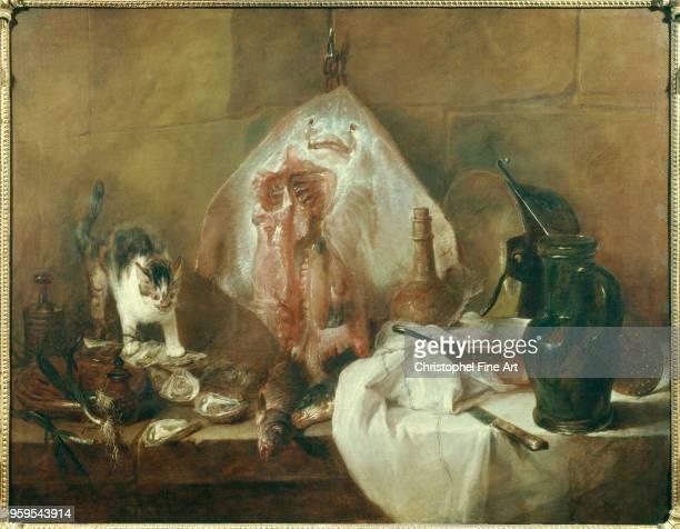Jean Baptiste Simeon Chardin The Ray 17251726 Oil on canvas14 x 146 m Paris Louvre Museum