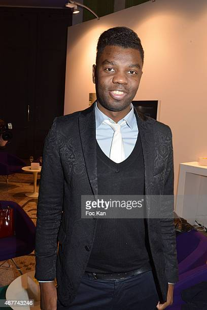 Jean Barthelemy Bokassa attends the 'Diamond Night by Divinescence Vendome' Harumi Klossowska Jewellery Exhibition Preview As Part Of Art Paris Art...