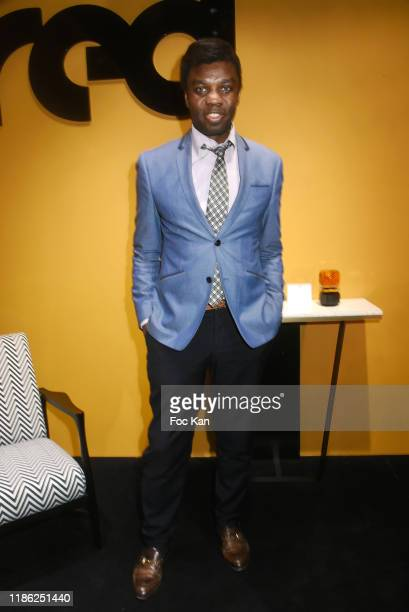 Jean Barthelemy Bokassa attends the Red X BHV Marais Ephemere Boutique Launch Party on November 07 2019 in Paris France