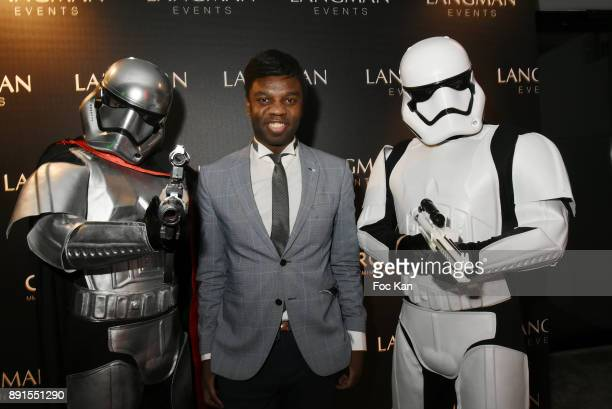 Jean Barthelemy Bokassa attends the Star Wars Party at Le Saint Fiacre on December 12 2017 in Paris France