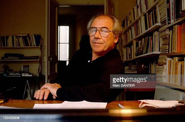Jean Baudrillard in France in 1990.