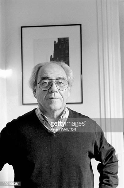 Jean Baudrillard in Paris, France on December 06, 1994 - Jean Baudrillard.