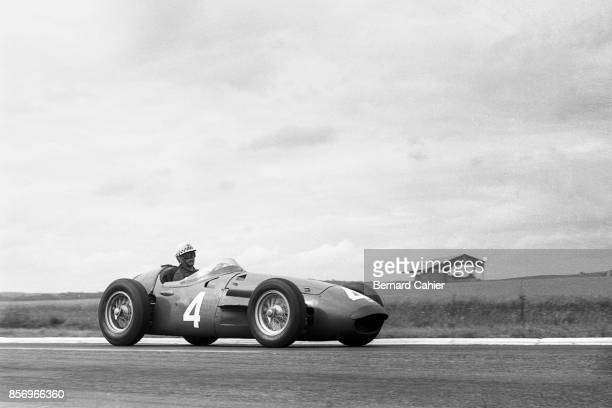 Jean Behra Maserati 250F Grand Prix of France ReimsGueux 01 July 1956