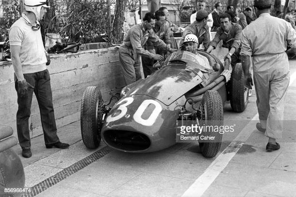 Jean Behra Maserati 250F Grand Prix of Monaco Circuit de Monaco 13 May 1956