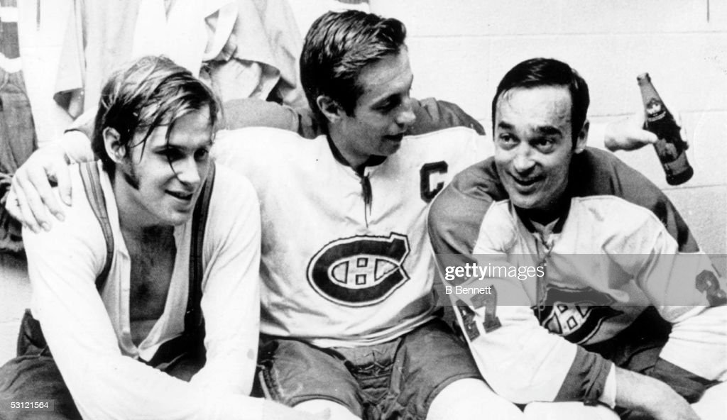 1971 Stanley Cup Finals - Game 6:  Chicago Blackhawks v Montreal Canadiens : News Photo