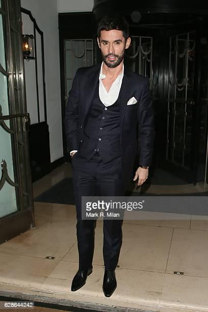Jean Bernard Fernandez Versini attending the London Evening Standard British Film Awards on December 8 2016 in London England
