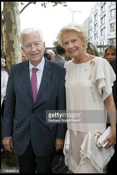 Jean Bernard Raimond and wife Monique at 'L'Affaire Farewell' Film Premiere And Charity Dinner To Benefit The Claude Pompidou Foundation