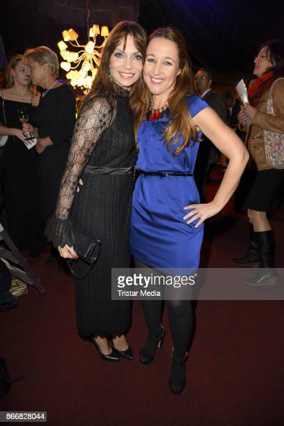 Jean Bork and Claudia Campus attend the 7th Diabetes Charity Gala at TIPI am Kanzleramt on October 26 2017 in Berlin Germany