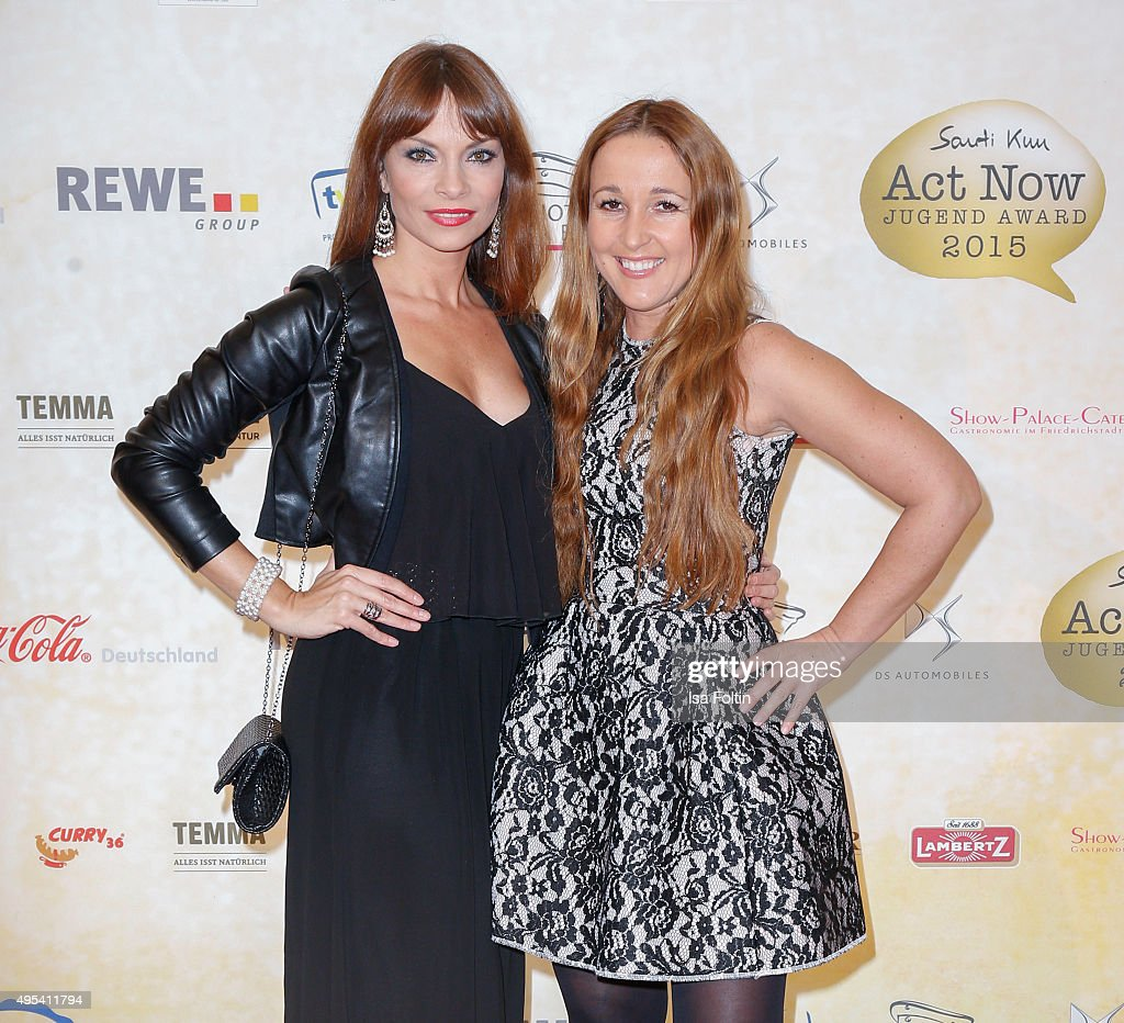 1st Act Now Jugend Award In Berlin : News Photo