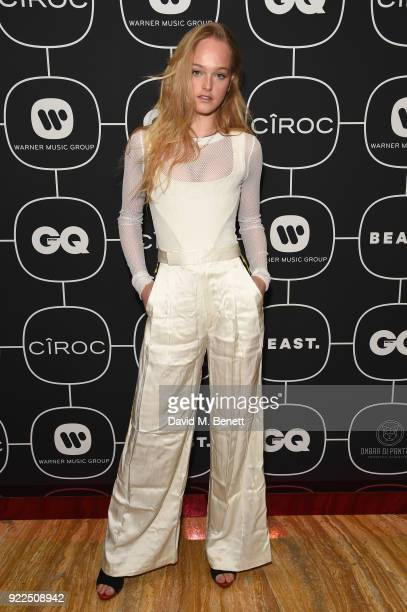 Jean Campbell attends the Brits Awards 2018 After Party hosted by Warner Music Group Ciroc and British GQ at Freemasons Hall on February 21 2018 in...
