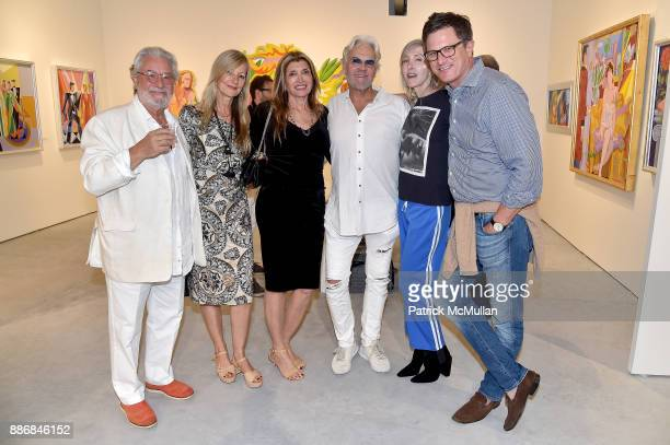 Jean Carlo Impiglia Ulrike Howe Lila Titone Ron Burkhart Lori Cuisinier and Kevin Richards attend the CONTEXT Art Miami VIP Preview at The CONTEXT...