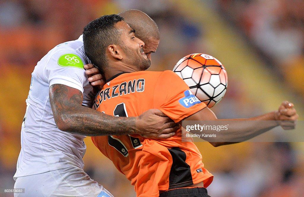 A-League Rd 12 - Brisbane v Melbourne