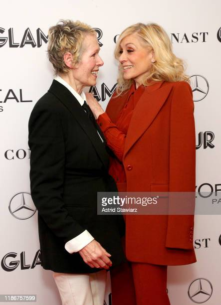 E Jean Carroll and Judith Light attend the 2019 Glamour Women Of The Year Summit at Alice Tully Hall on November 10 2019 in New York City