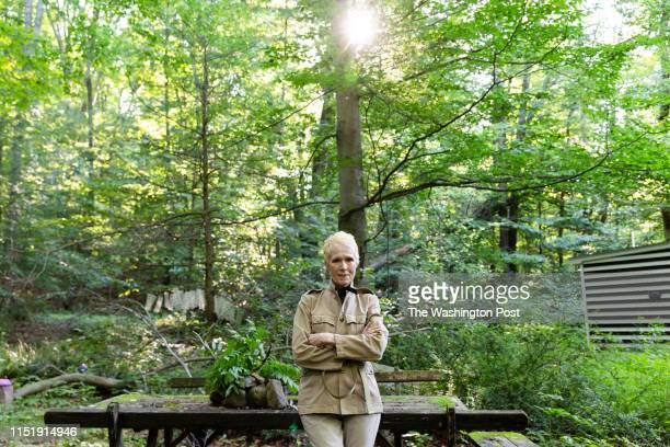 E Jean Carroll at her home in Warwick NY