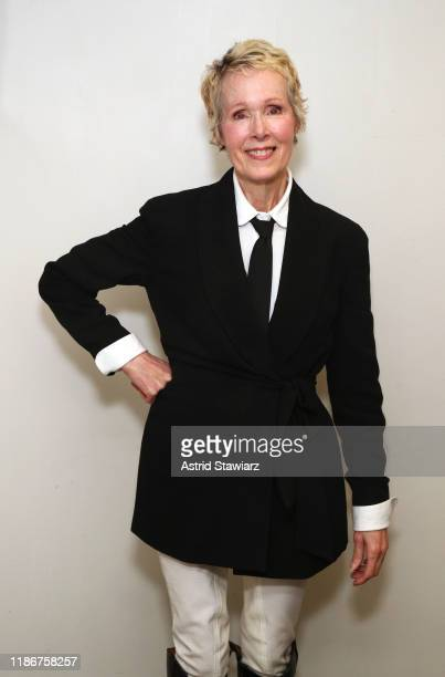E Jean Carroll attends the 2019 Glamour Women Of The Year Summit at Alice Tully Hall on November 10 2019 in New York City