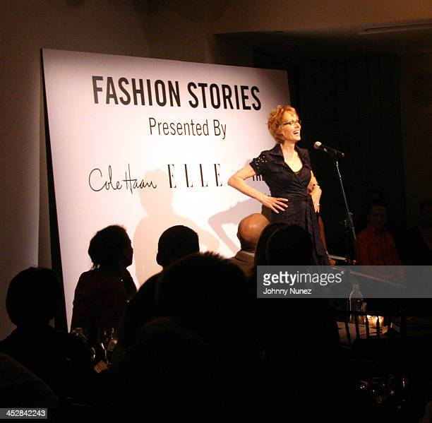 E Jean Carroll during Elle Magazine Party September 20 2006 at 137 West 26th St in New York City New York United States
