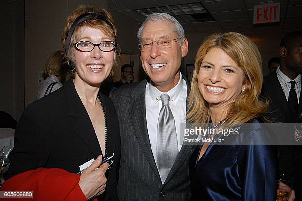 E Jean Carroll Henry Schleiff and Lisa Bloom attend MOUTHPIECE by Edward Hayes Book Party at McManus Midtown Democratic Association on February 15...