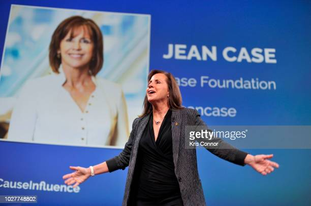 Jean Case the Chairman of the National Geographic Society and CEO of the Case Foundation speaks at the Influence Nation Summit 2018 At National...