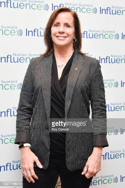 Jean Case the Chairman of the National Geographic Society and CEO of the Case Foundation poses for a photo during the Influence Nation Summit 2018 At...