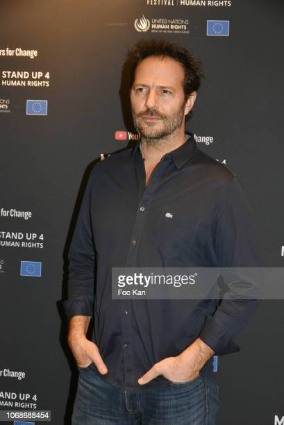 Jean Charles Chagachbanian attends 'Mobile Film Festival Stand Up 4 Human Rights Awards' Ceremony Hosted by Youtube Creators For Change at Cinema MK2...