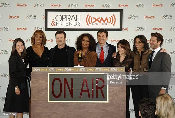 Jean Chatsky, Gayle King, Bob Greene, Oprah Winfrey, Dr. Mehmet Oz, Marianne Williamson, Dr. Robin Smith and Nate Berkus